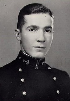 Midshipman Heinlein, from the 1929 U.S. Naval Academy yearbook RAH 1929 Yearbook.png