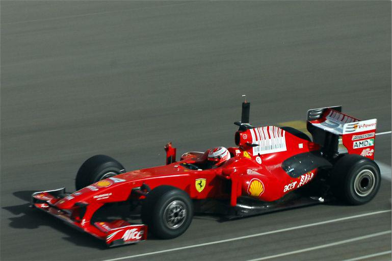 Ferrari f1 barcode 7