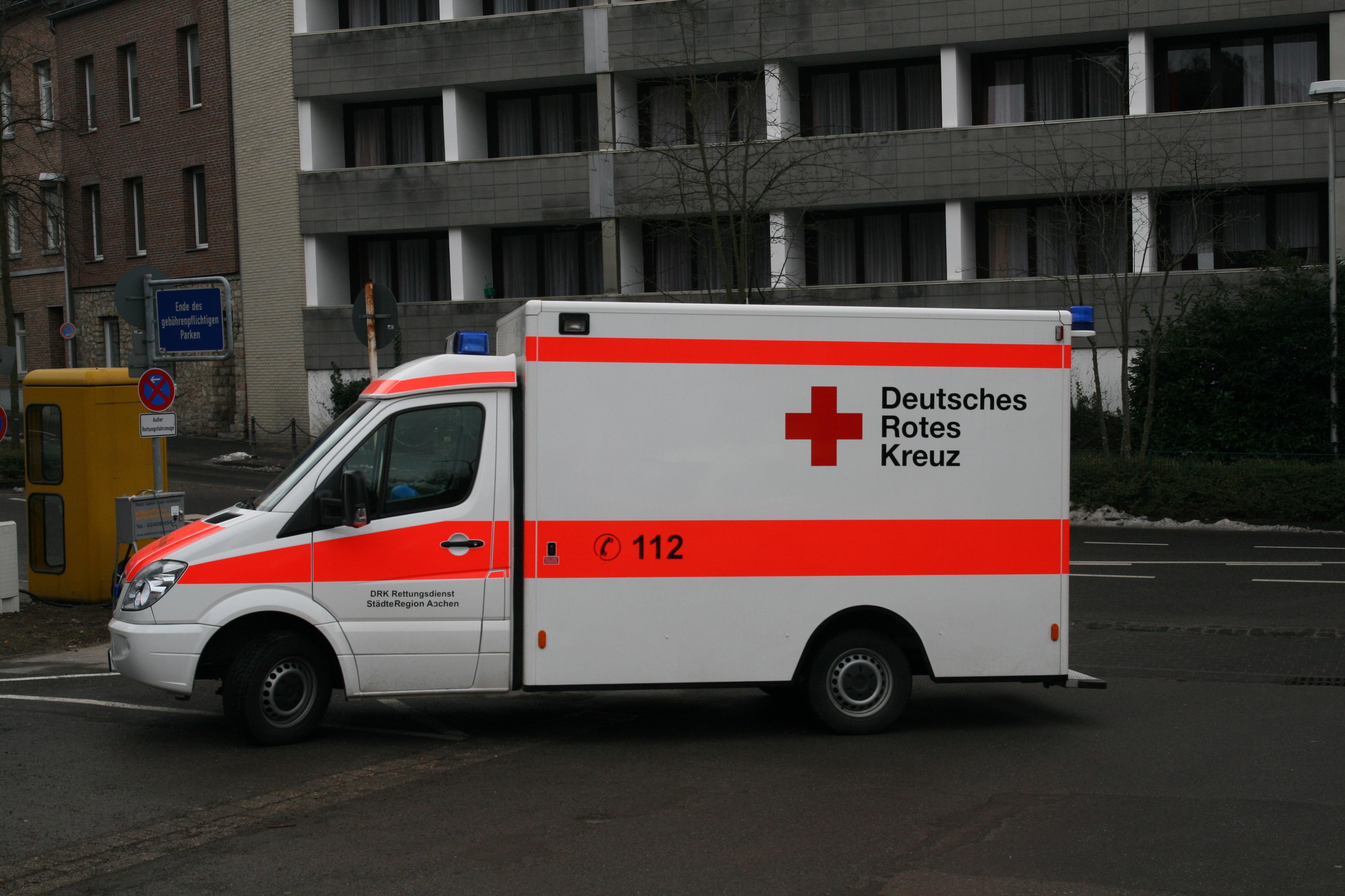 Krankenwagen Nummer
