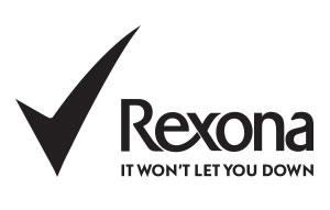 Znalezione obrazy dla zapytania rexona logo