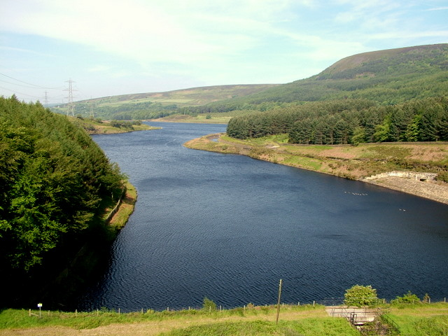 Rhodeswood Reservoir - geograph.org.uk - 616875