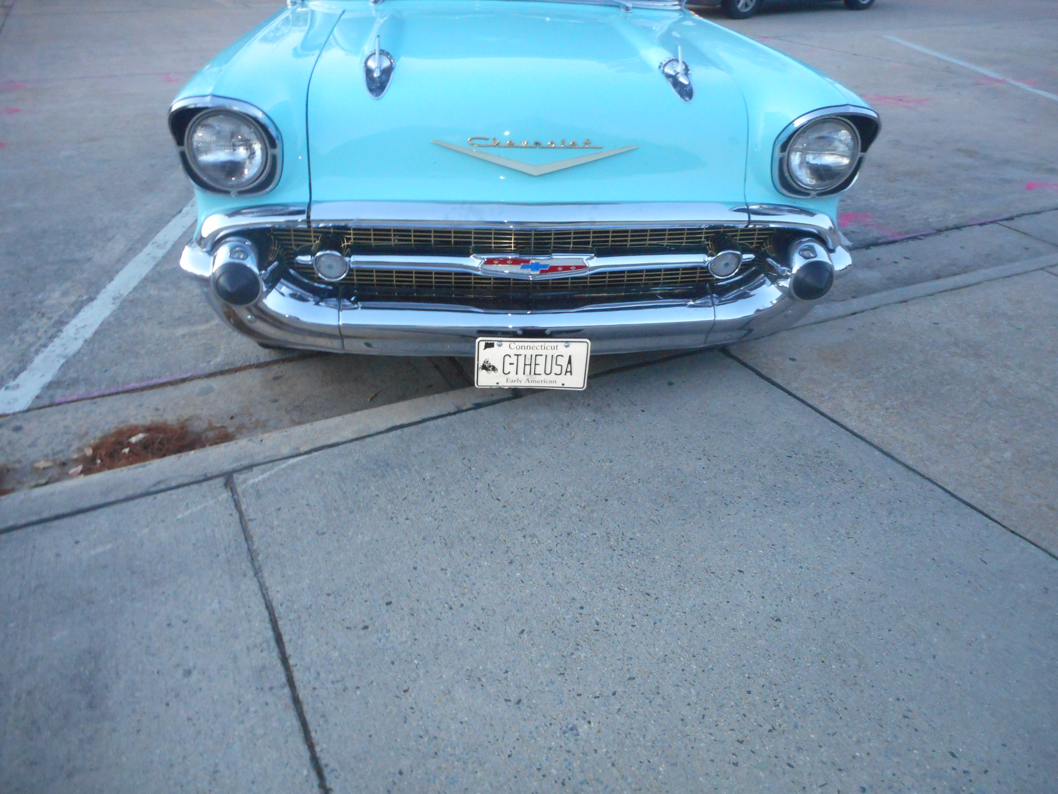 Filerobins Egg Blue 1957 Chevy Bel Air Convertible 3 Bellaire