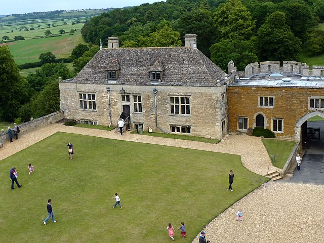 Rockingham Castle - tea rooms - geograph.org.uk - 2498935