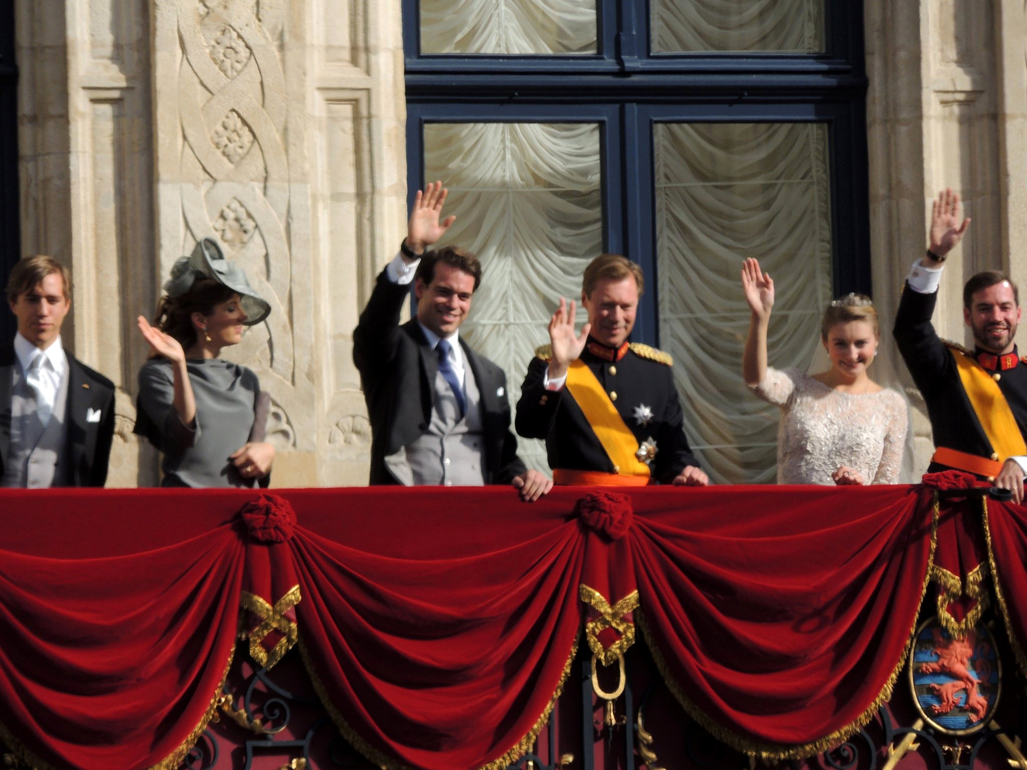 File Royal Family St 233 Phanie And Guillaume Wedding 2012