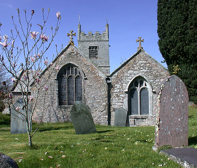 Saint Colan Church, Springtime. - geograph.org.uk - 388818