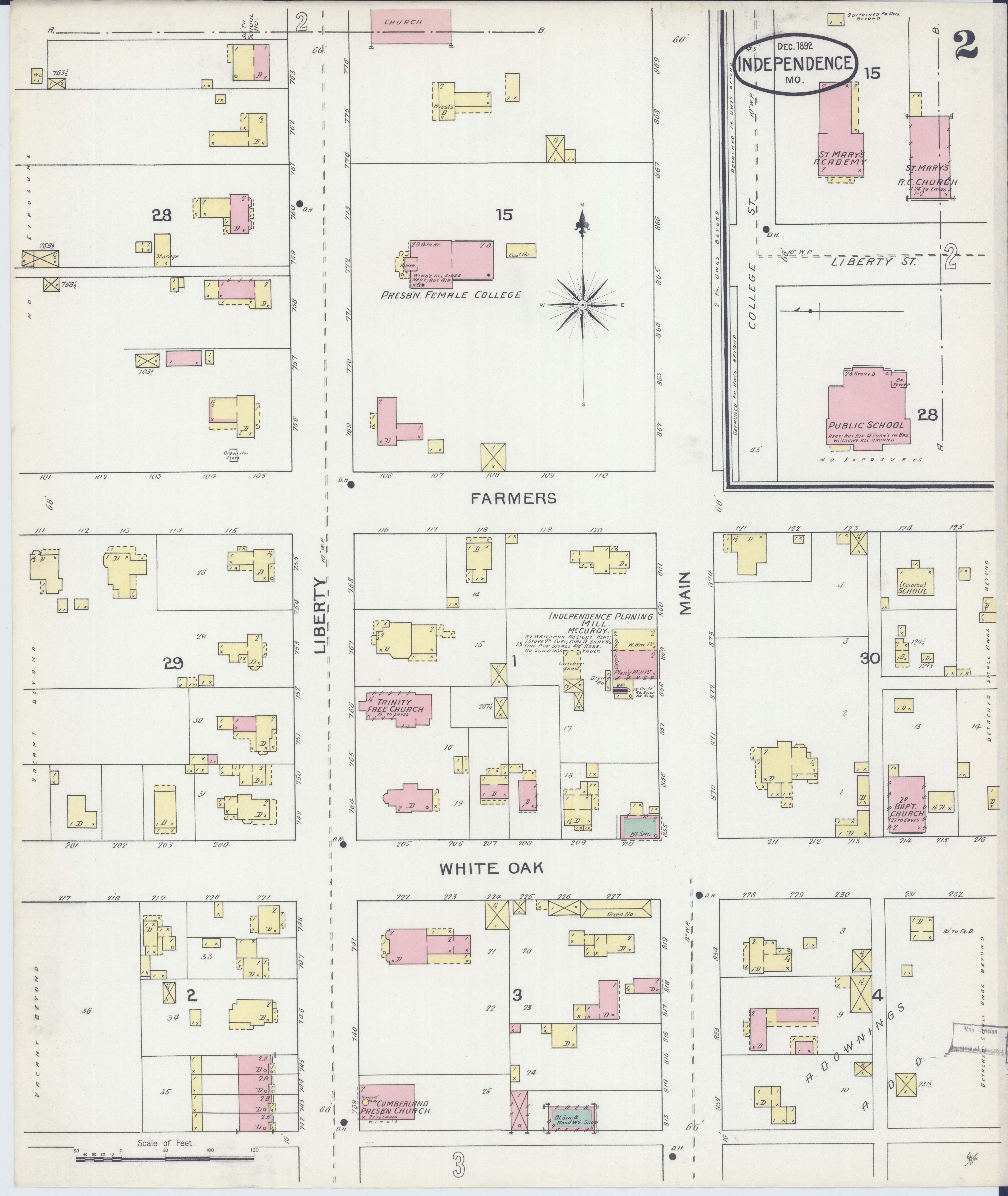 File Sanborn Fire Insurance Map From Independence Jackson County