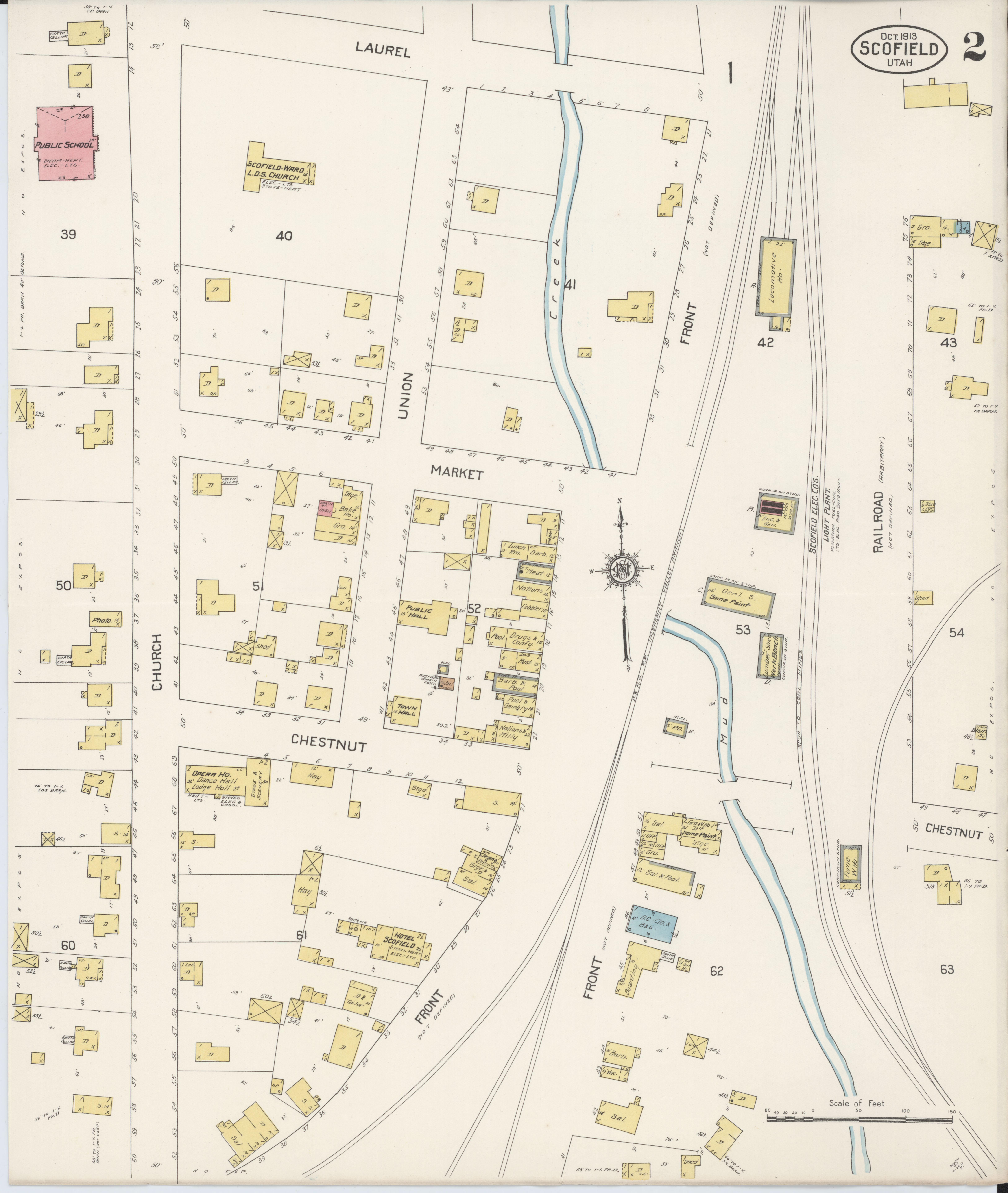 County Line 2 Fire Map.File Sanborn Fire Insurance Map From Scofield Carbon County Utah
