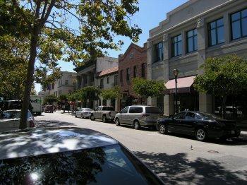 Santa Cruz main street: