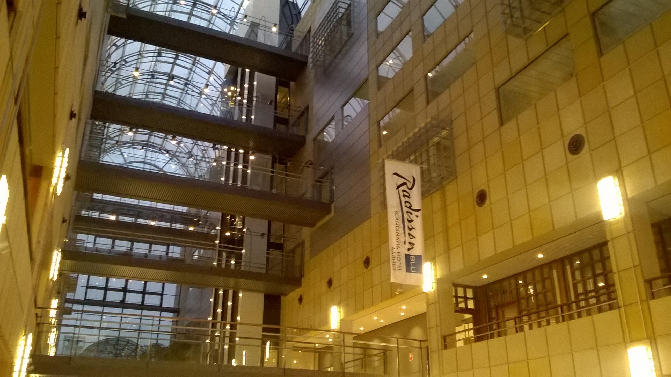 Filscandinavian Center Aarhus At Evening 2018jpg Wikipedia Den