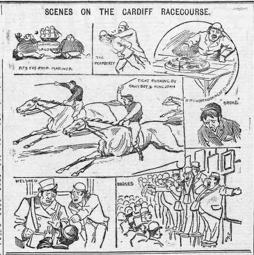 File:Scenes on the Cardiff Racecourse - J.M. Staniforth.png