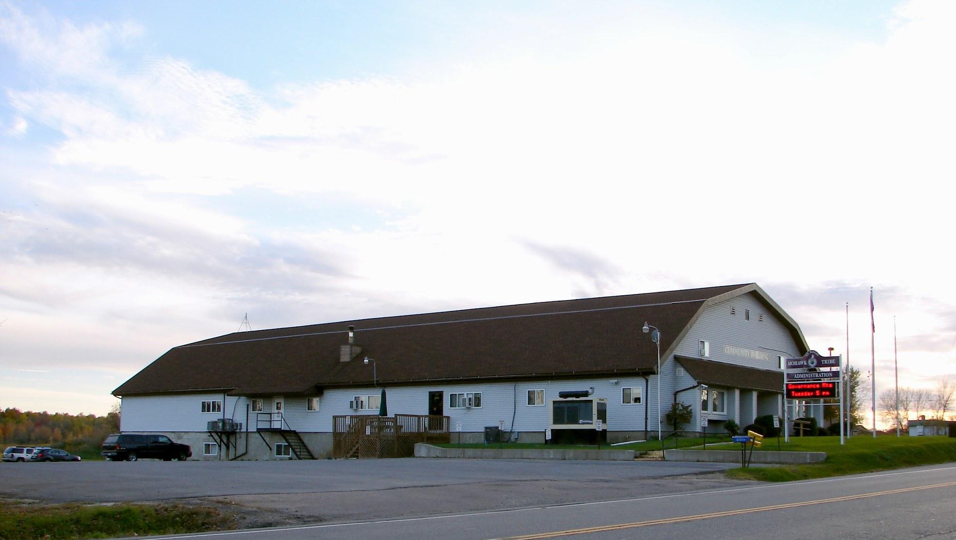 St  Regis Mohawk Reservation - Wikipedia