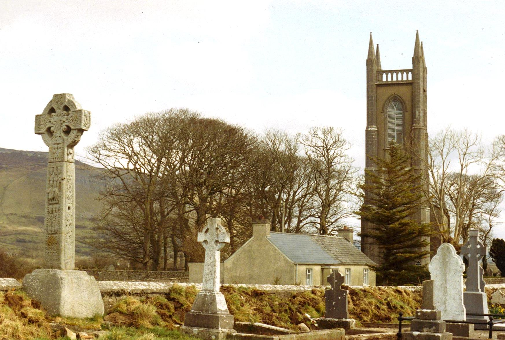 File St Columba S Church Drumcliff And The Past