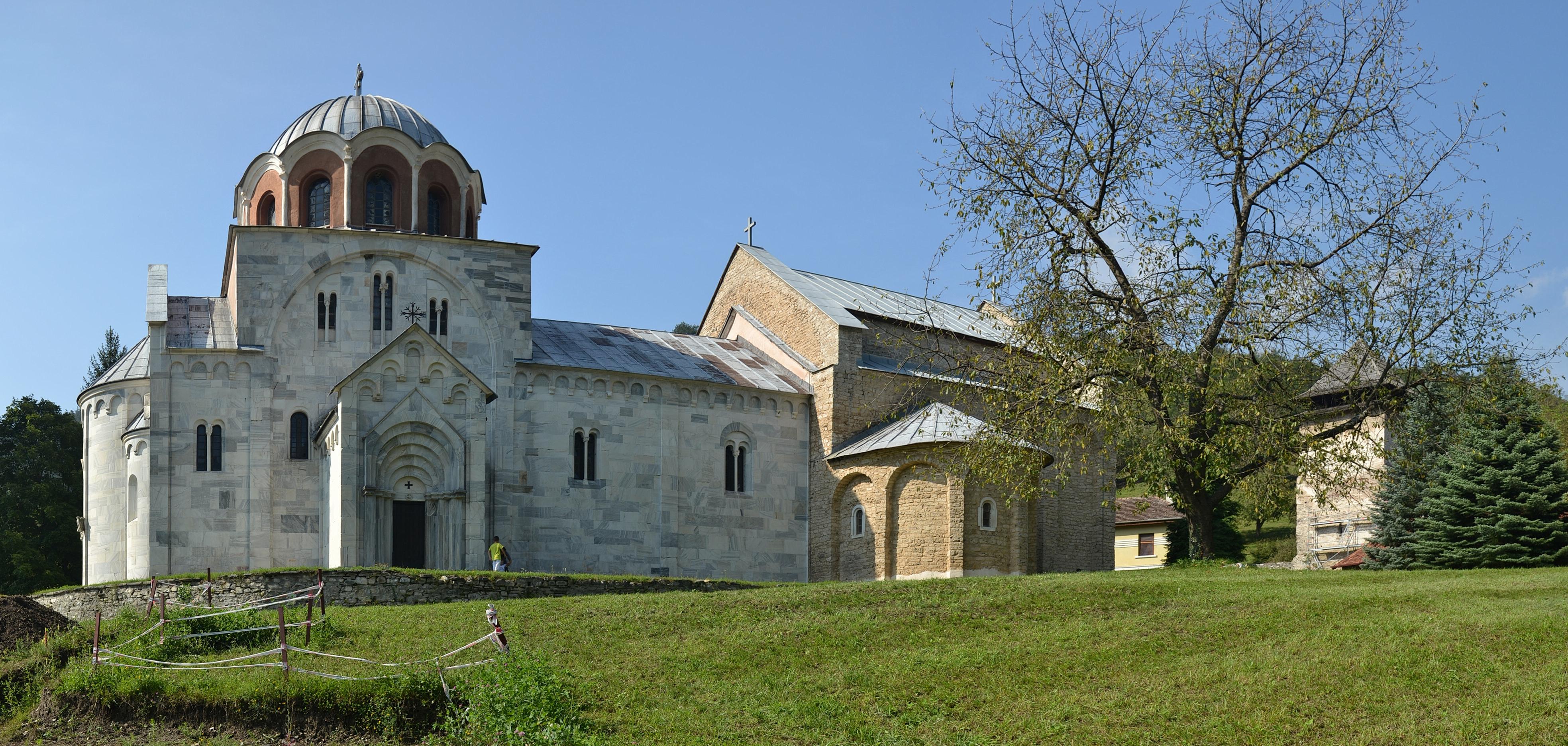 Monastier Studenica, pamiatka Svetového dedičstva UNESCO v Srbsku. Foto: Marcin Szala (Wikimedia Commons)