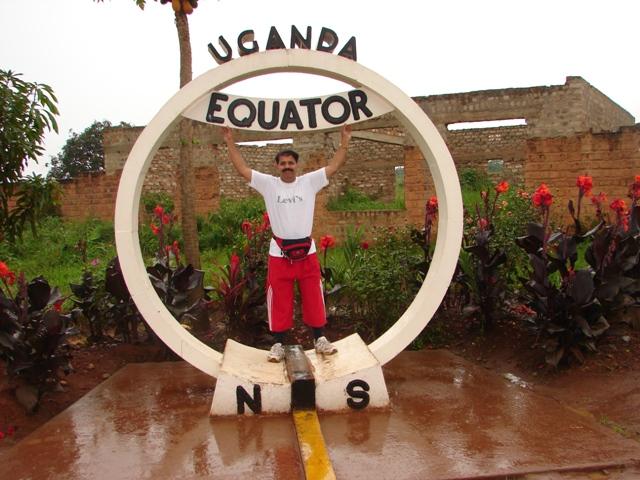 T N suresh kumar on equator line