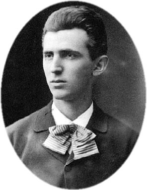 English: The image of Nikola Tesla (1856-1943)...