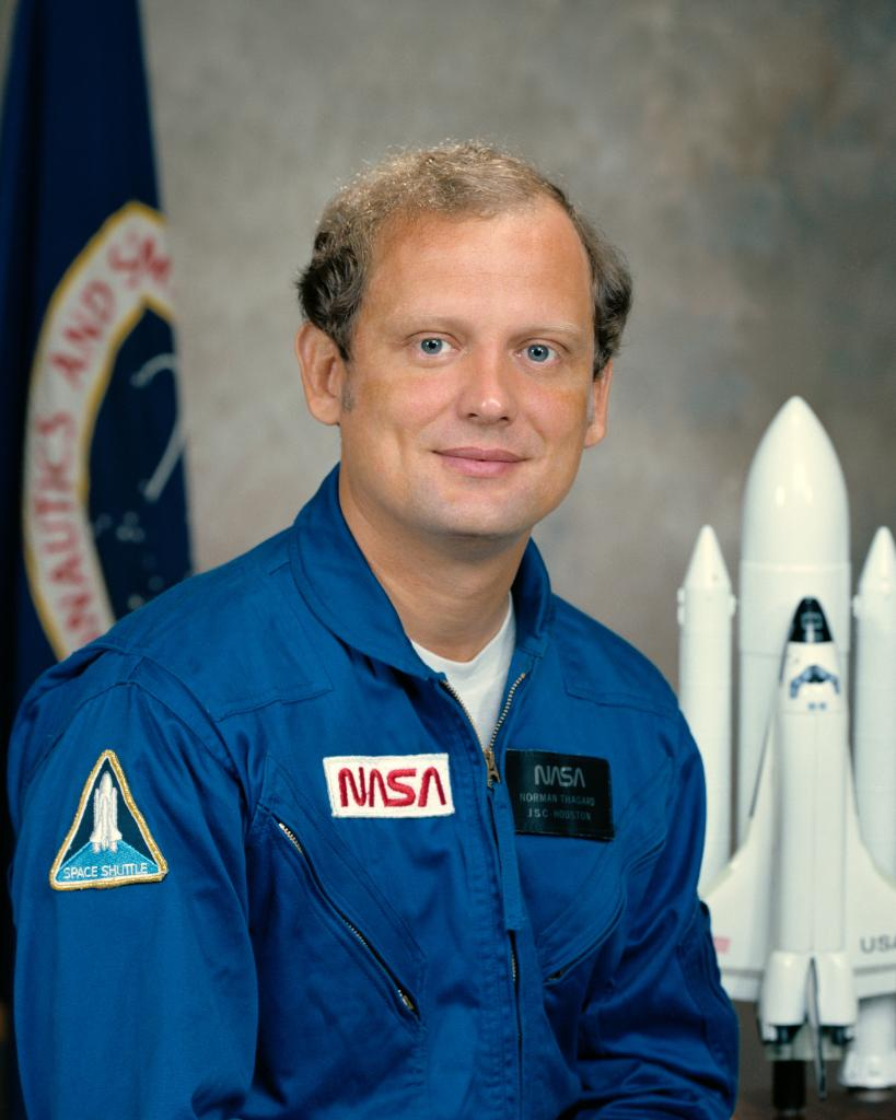 Image result for norman thagard becomes the the first american astronaut
