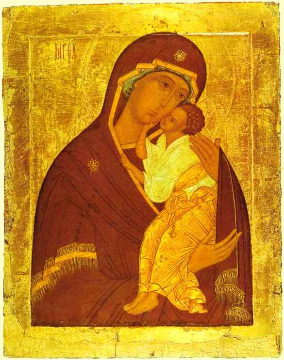 The Yaroslavi Virgin With Child (15th century, Tretyakov).jpg