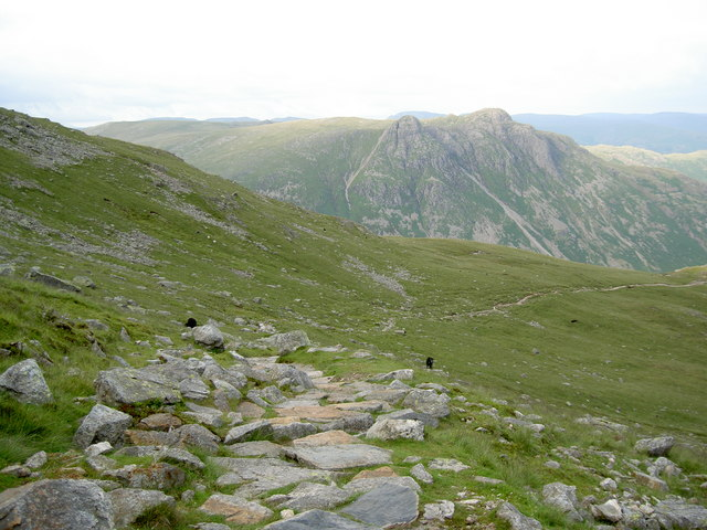 The path here is nicely improved - geograph.org.uk - 872239