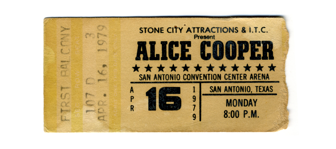 file ticket for alice cooper concert wikimedia commons. Black Bedroom Furniture Sets. Home Design Ideas