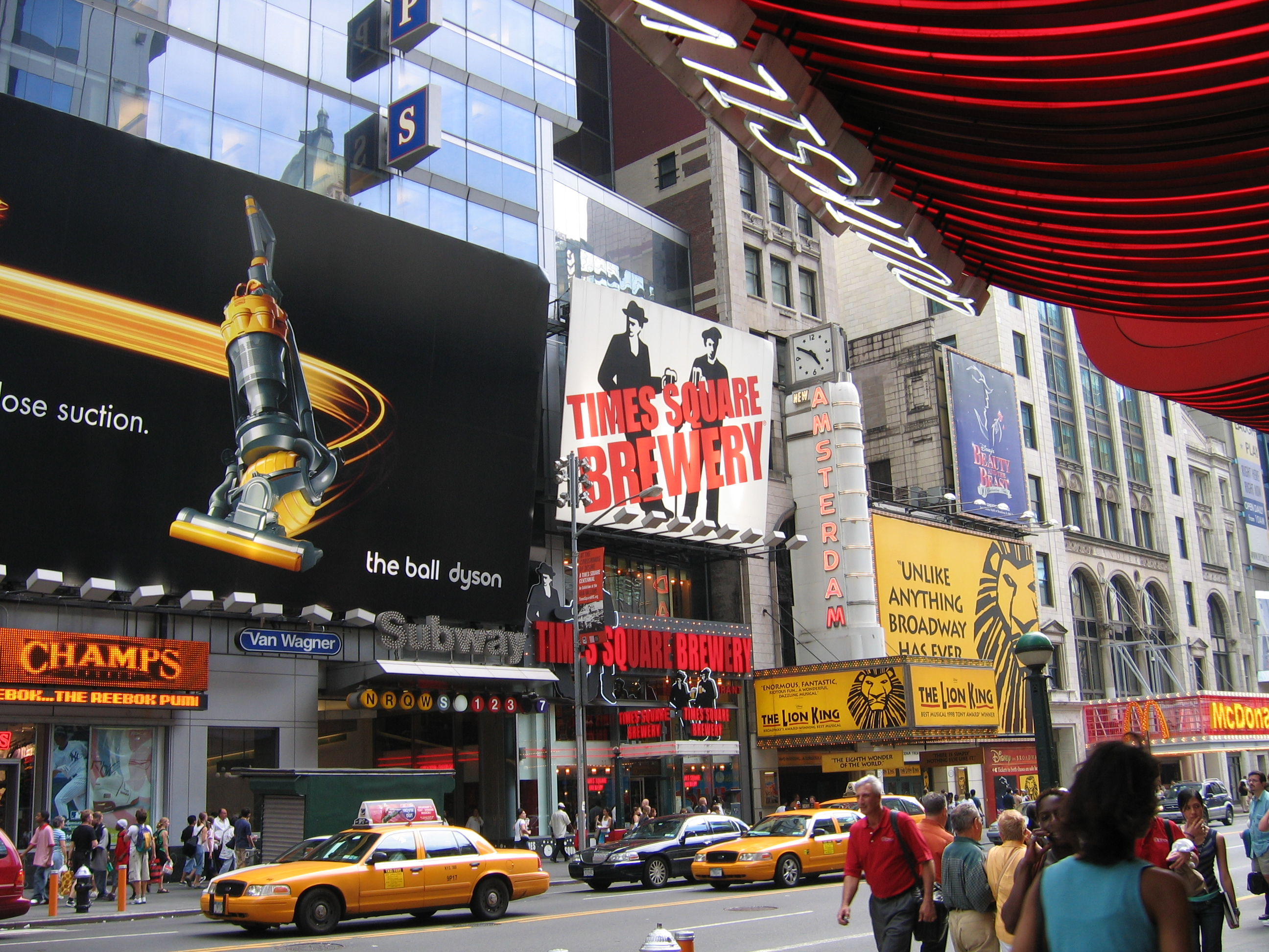 a description of the new york city
