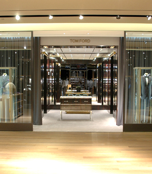 A Tom Ford boutique in Toronto