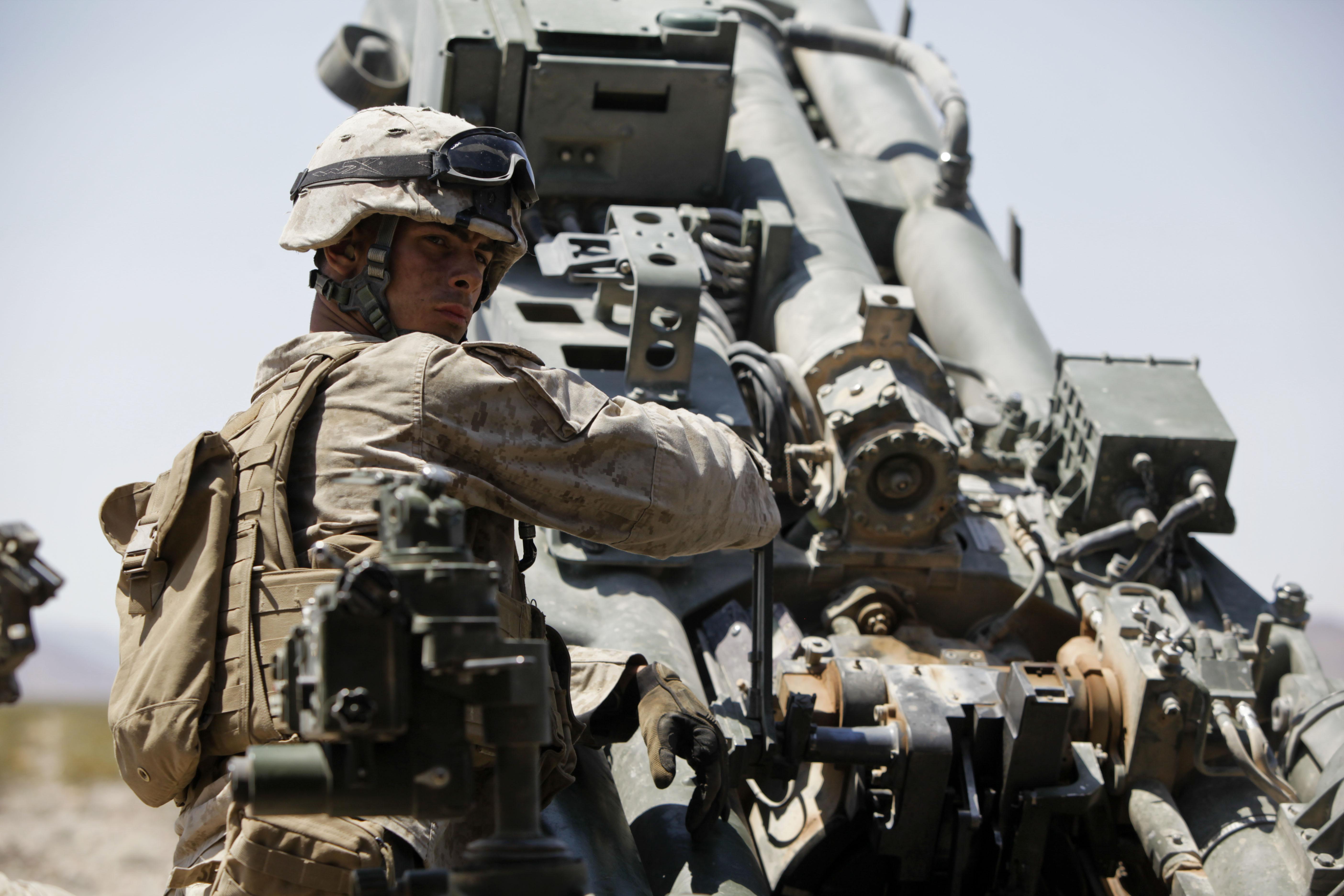 File:U.S. Marine Corps Lance Cpl. Christopher Semenske, a field ...