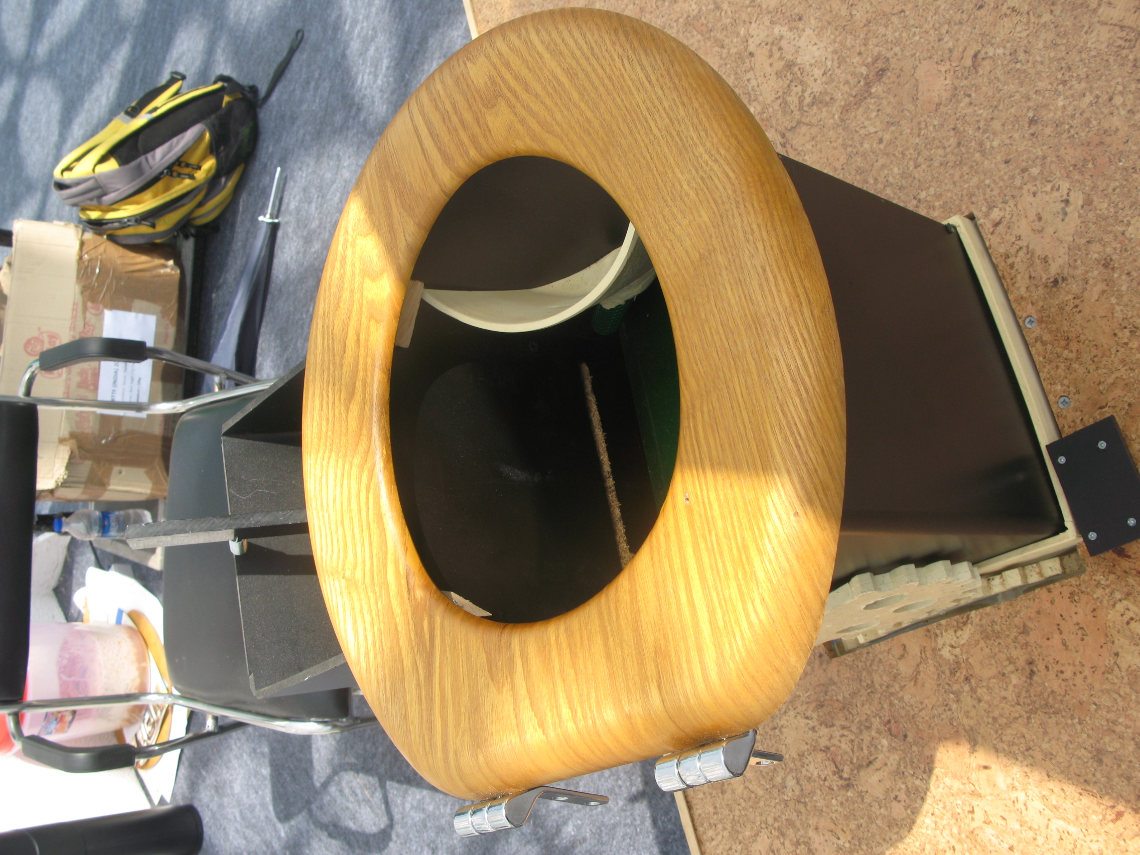 Astonishing File Urine Diversion Toilet Seat With Black Saw Dust Pdpeps Interior Chair Design Pdpepsorg