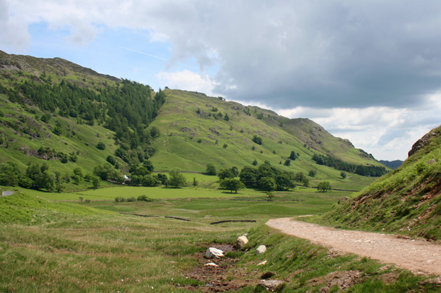 View towards Lingmoor Fell - geograph.org.uk - 846765