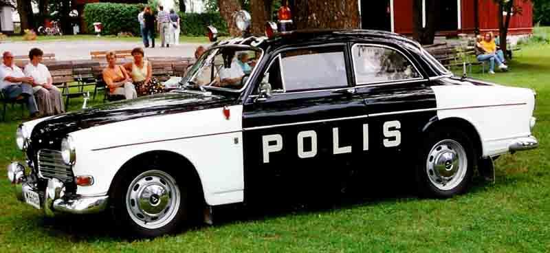 Volvo Amazon Police on 1995 Volvo 740 Gle