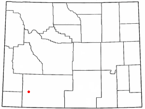 James Town, Wyoming CDP in Wyoming, United States