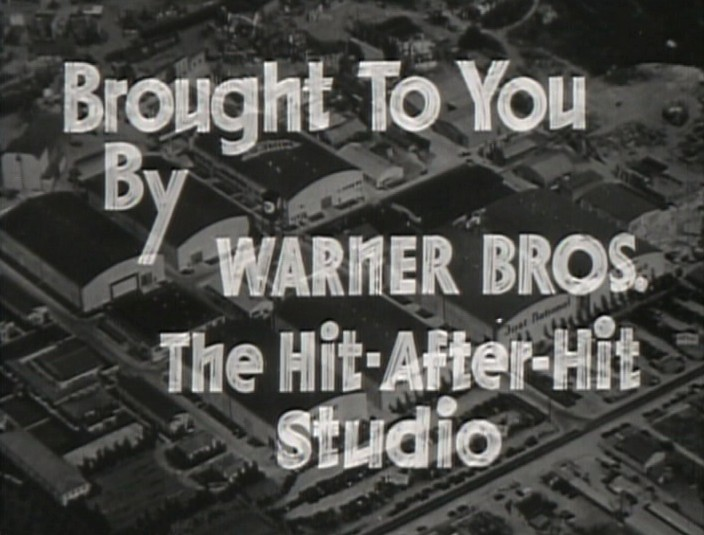 Warner Brother Studios from The Petrified Forest film trailer