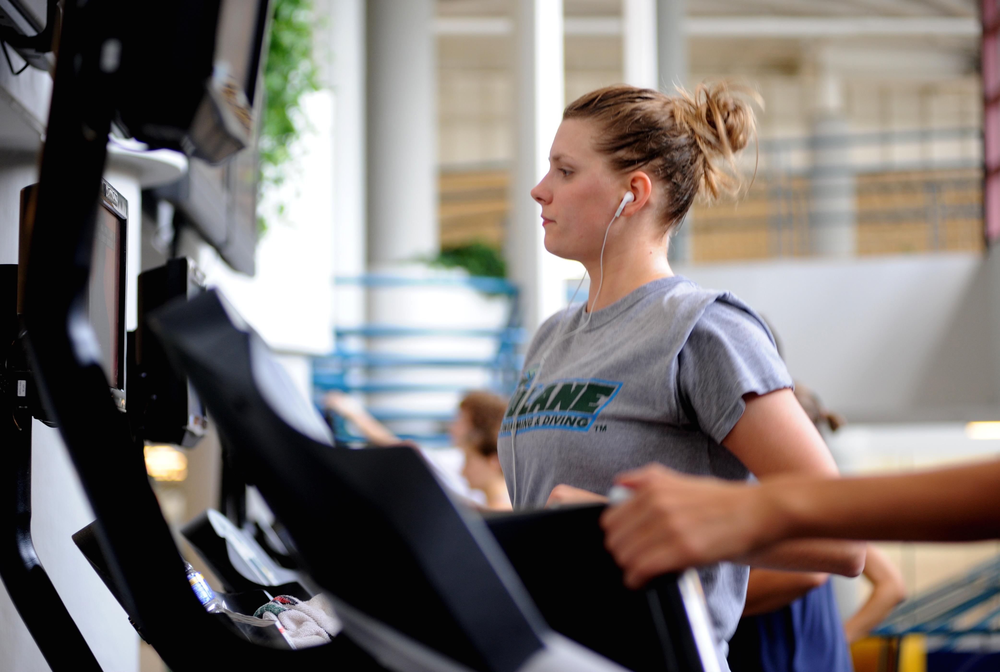 treadmill running extra curricular activities osu