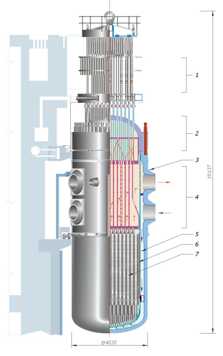 Водо-водяной ядерный реактор - реактор, использующий в качестве замедлителя и теплоносителя обычную воду.