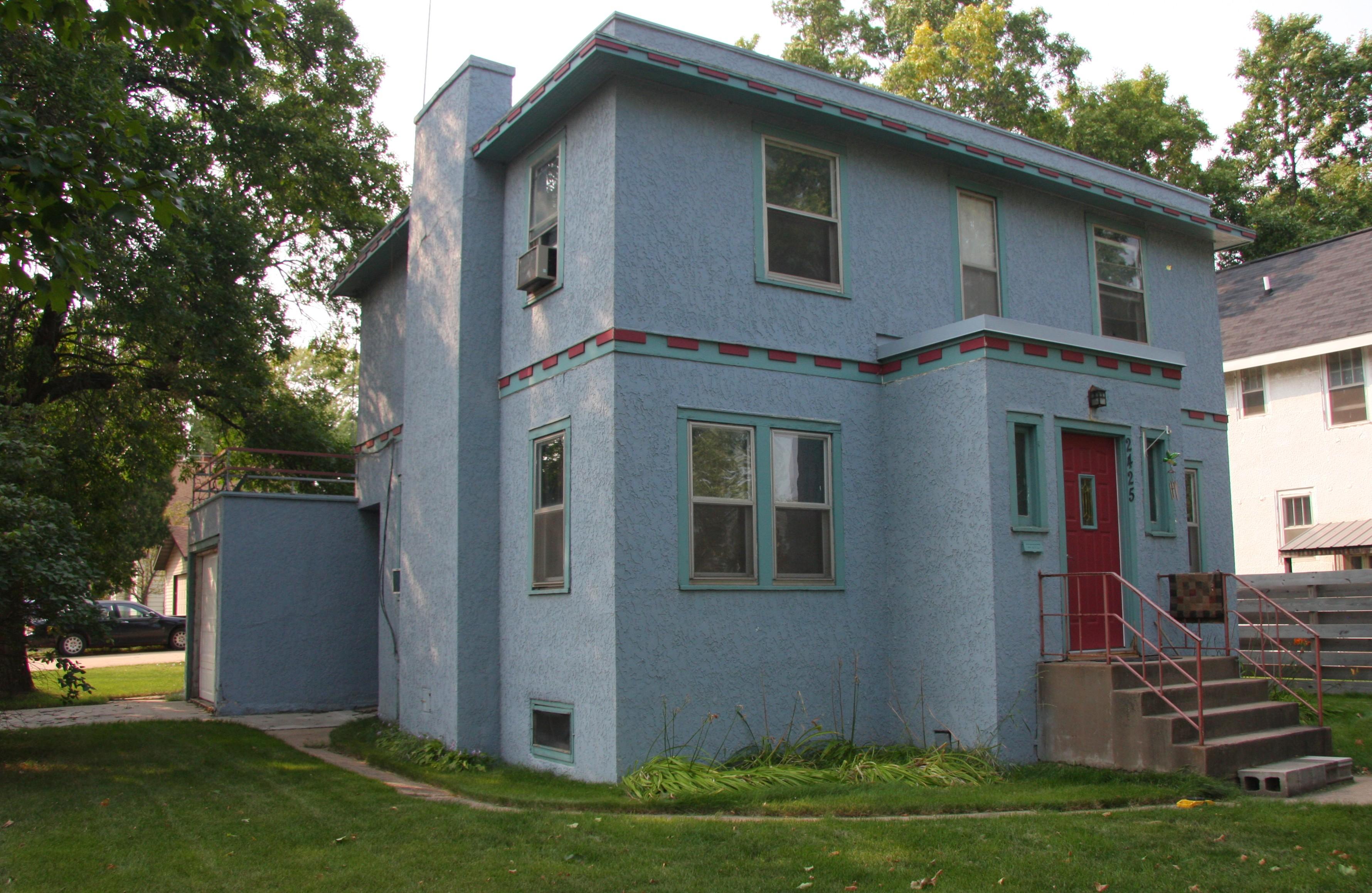 Hogar de Hibbing (Minnesota) donde Dylan pasó la mayor parte de su infancia.