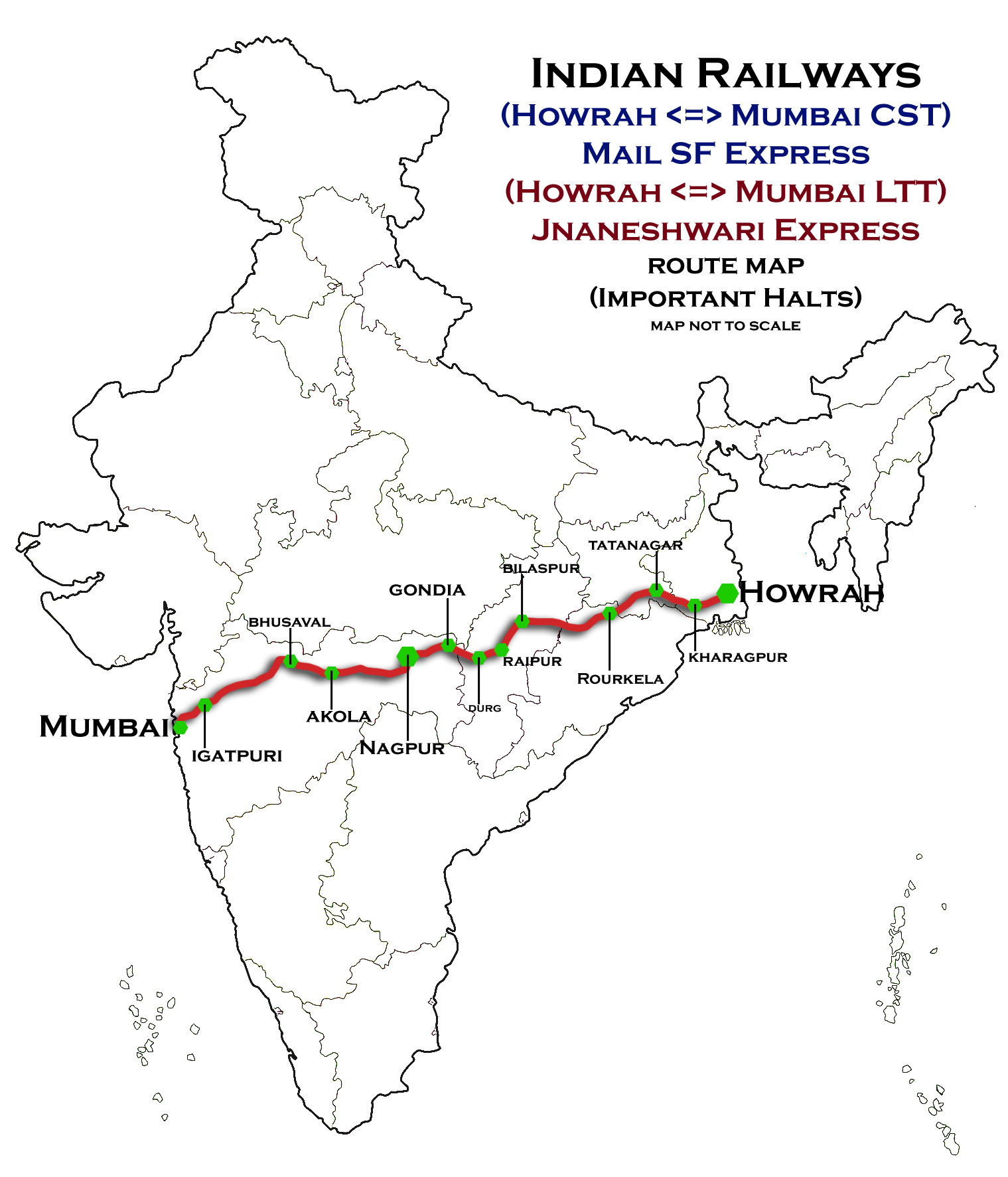 Indian Railway Route Map Pdf