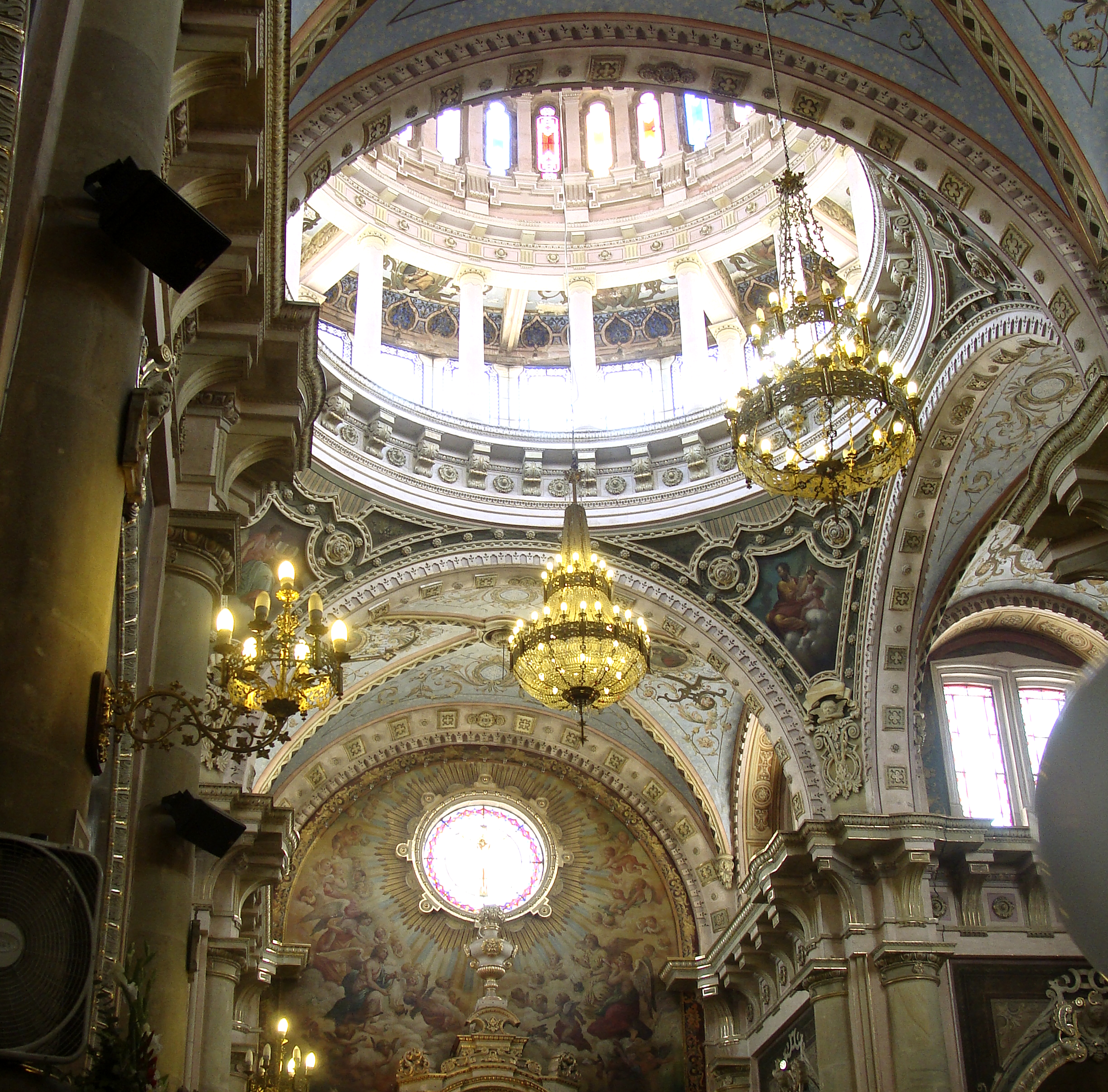 Interior Templo San Antonio Aguascalientes