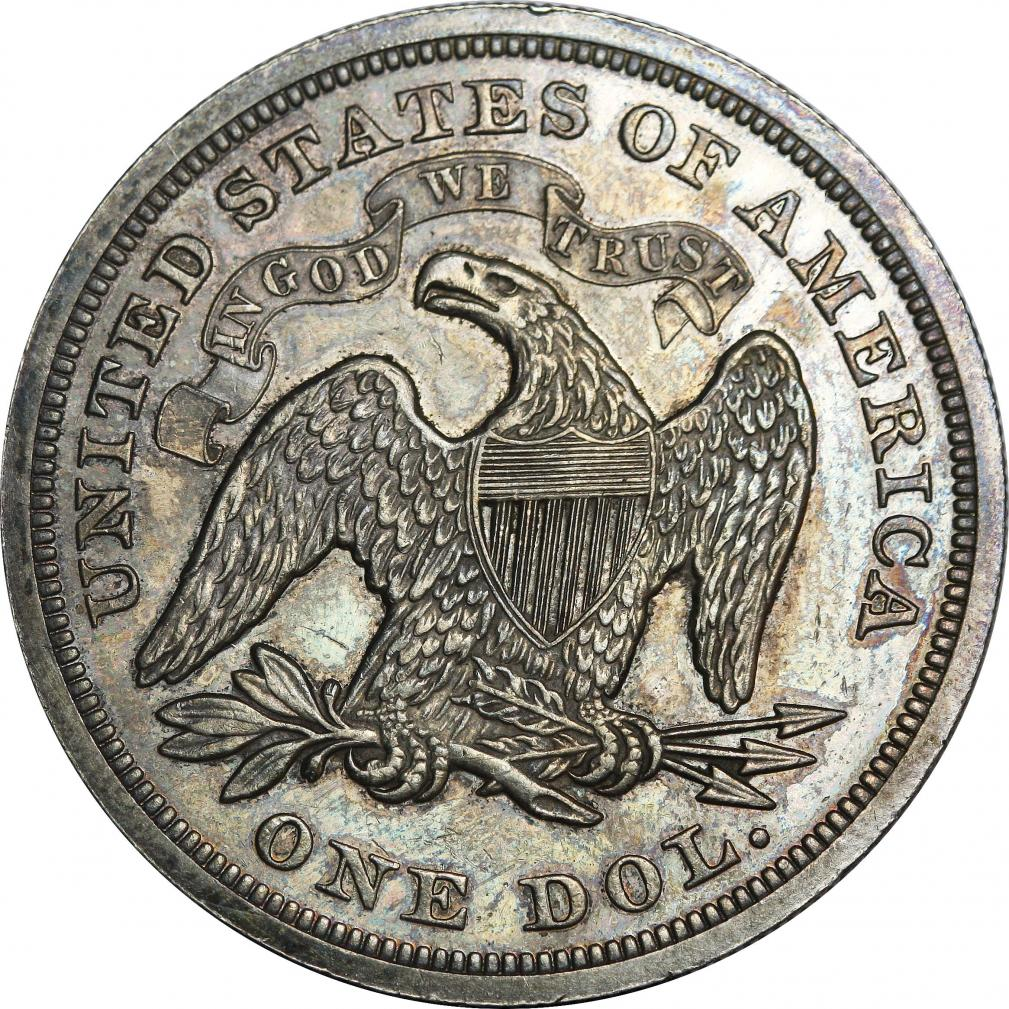 589c6ce5f Seated Liberty dollar - Wikipedia