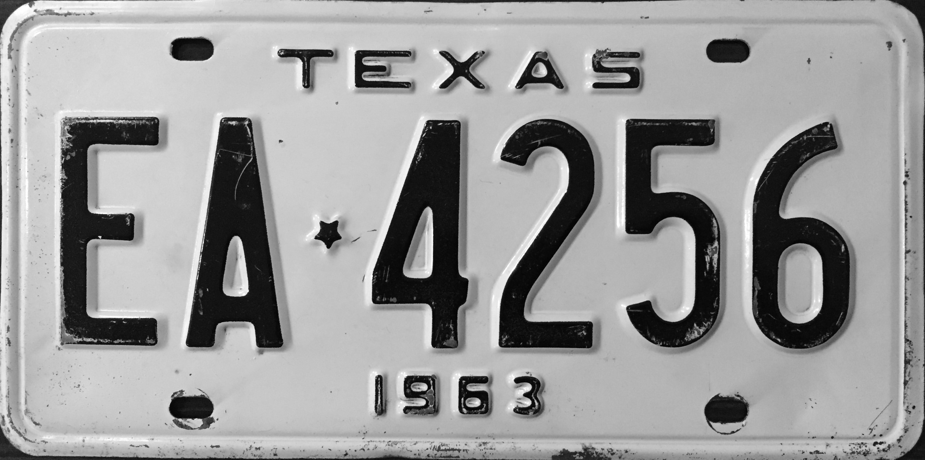 File:1963 Texas license plate.jpg - Wikimedia Commons