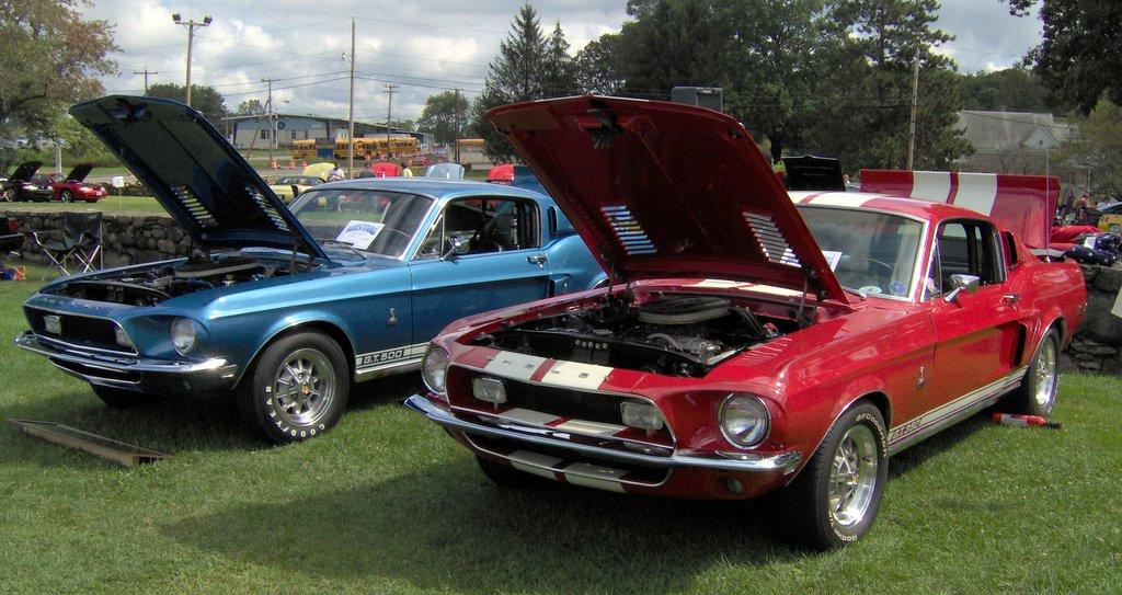 Shelby Car Show Gardena