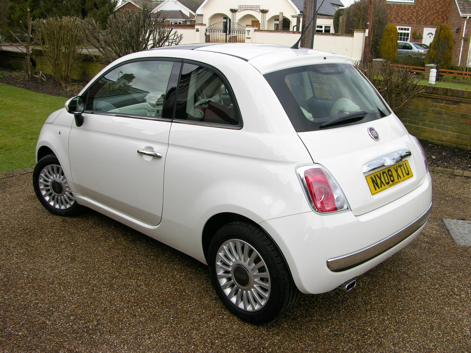 file 2008 fiat 500 1 4 lounge flickr the car spy 13 jpg wikimedia commons. Black Bedroom Furniture Sets. Home Design Ideas