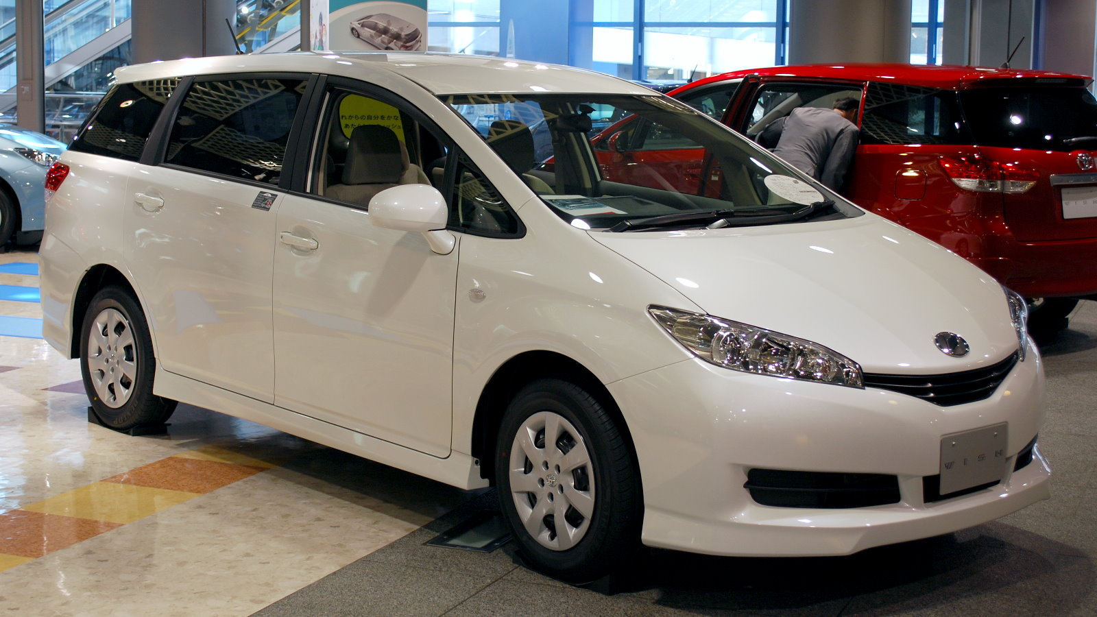 File 2009 Toyota Wish 05 Jpg Wikimedia Commons