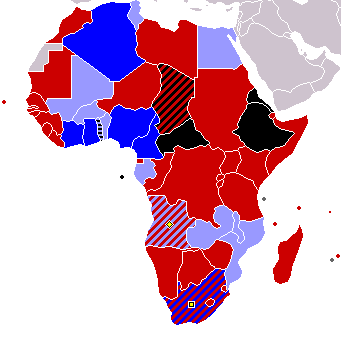 Map Of Africa 2010.2010 Fifa World Cup Qualification Caf Wikipedia