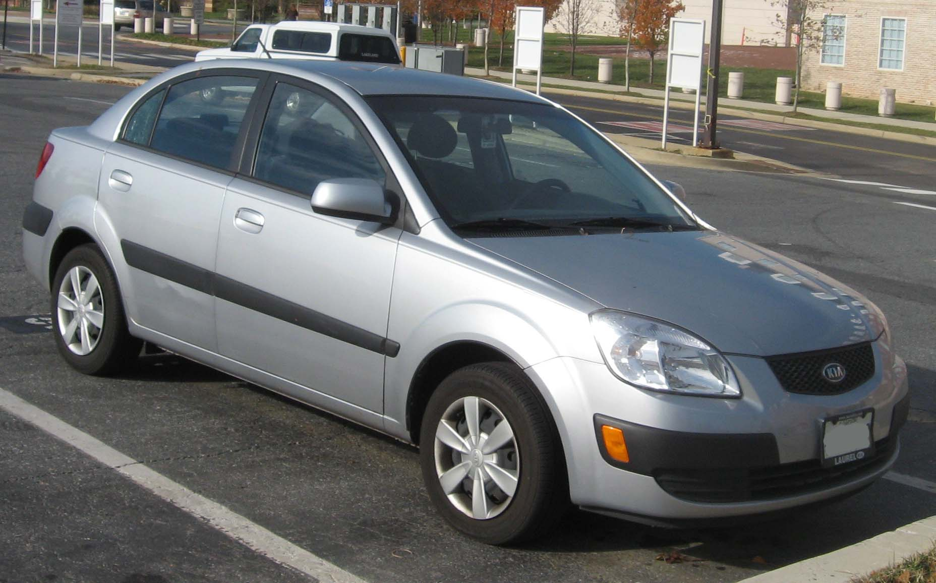 File 2nd Kia Rio Sedan Jpg Wikimedia Commons