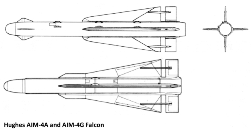 Missile Drawing AIM-4 Falcon   ...