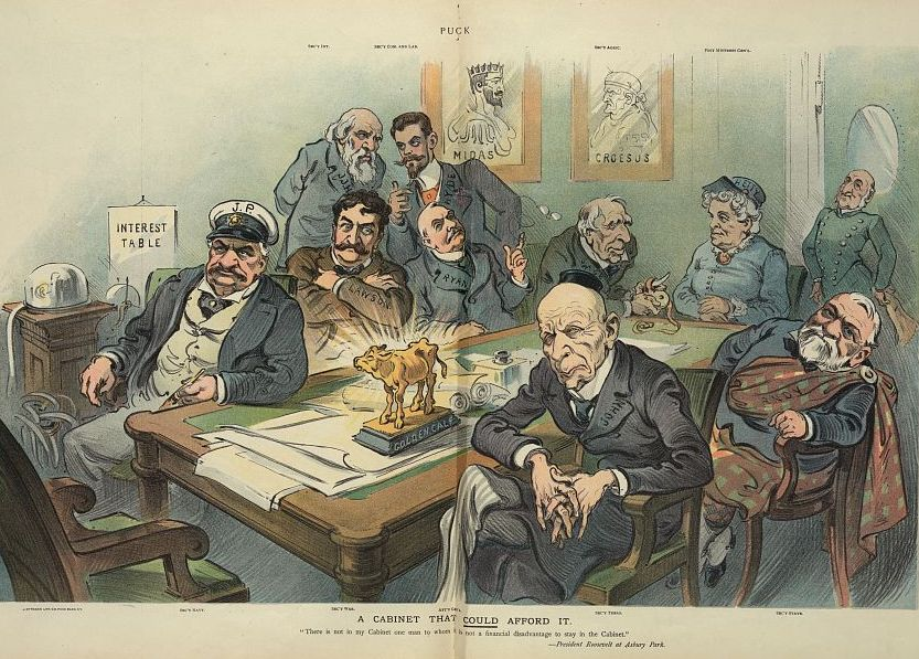 Hetty Green in a 1905 Political Cartoon