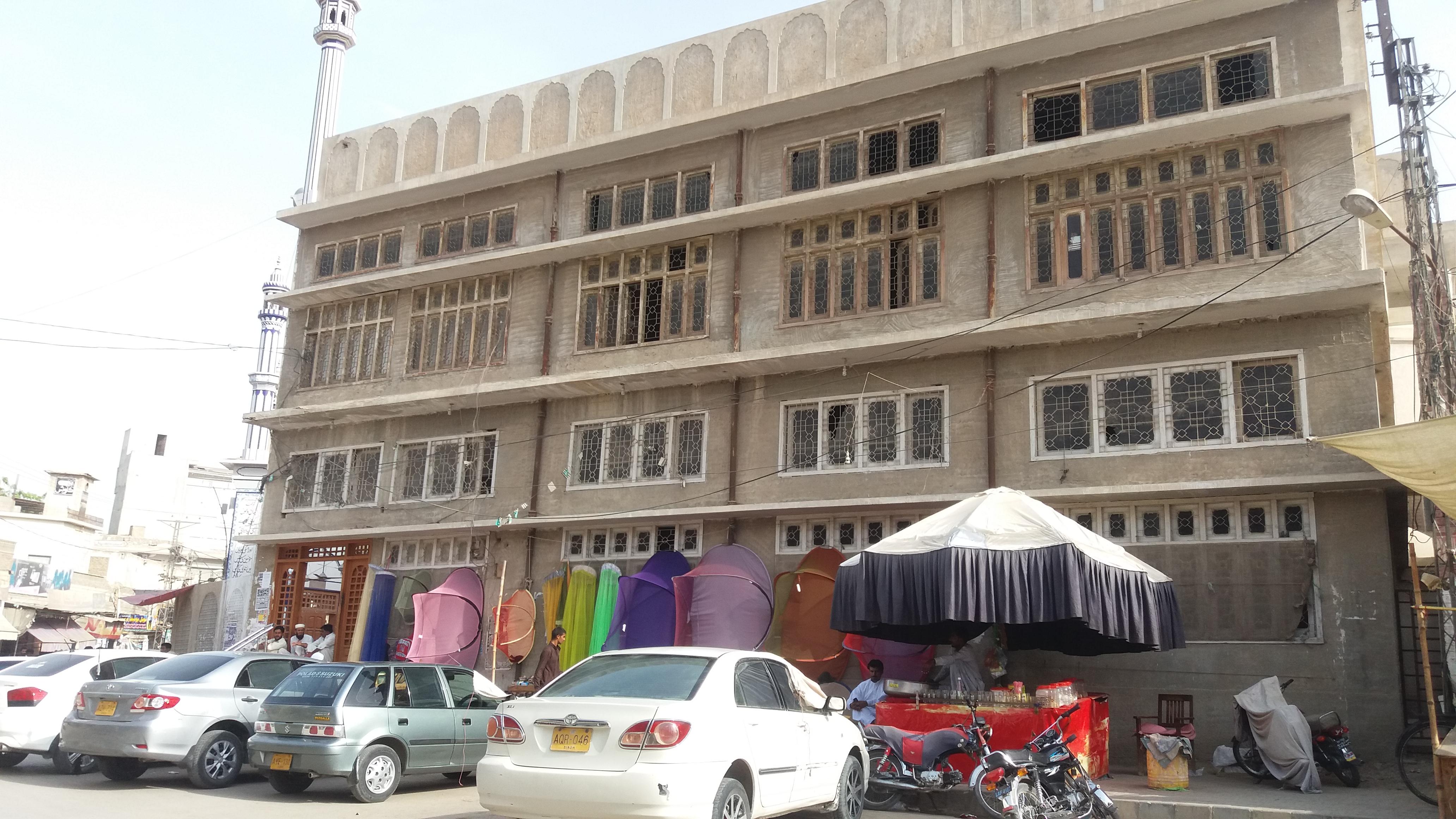 FileA Mosque Near Panjqula Chock Khairpur Mirs