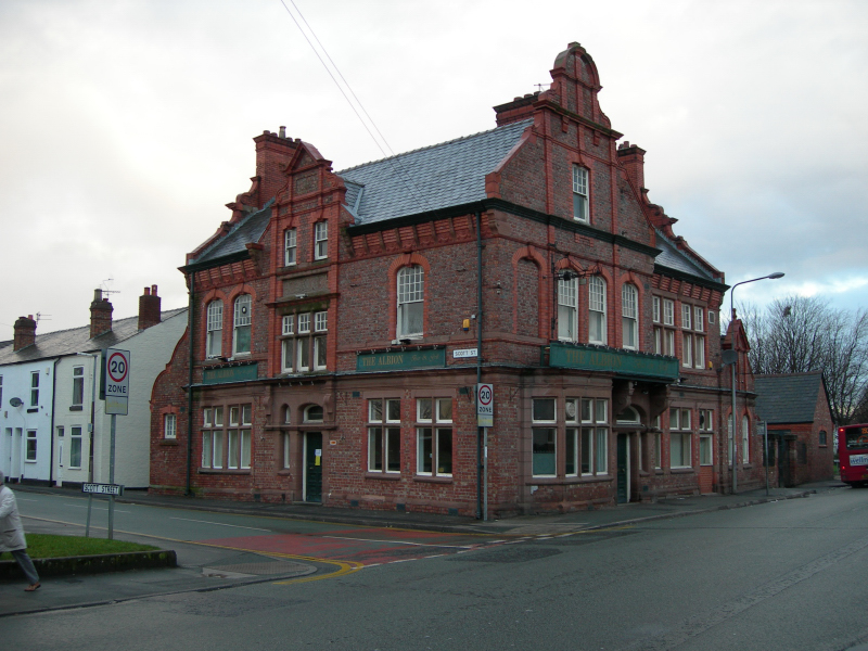 Creative Commons image of The Albion in Warrington