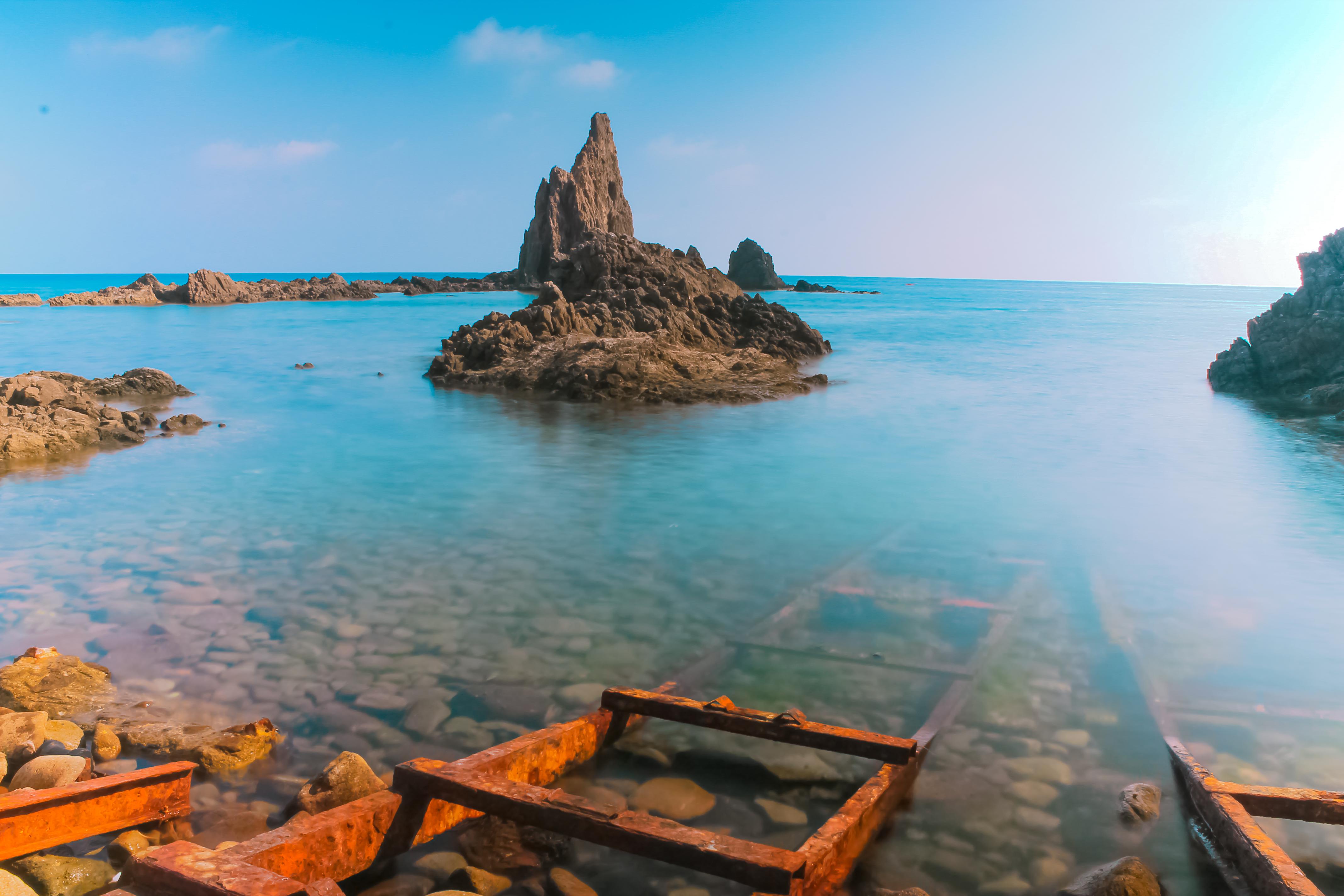 Archivo:Arrecife de Las Sirenas, Cabo de Gata.jpg - Wikipedia, la enciclopedia libre