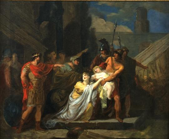 Astyanax Arrache Des Bras De Sa Mere Francois Guillaume Menageot