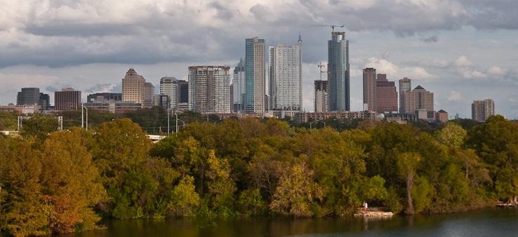 Texas city skyline the ultimate showdown houston for How far is waco texas from austin texas